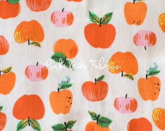 Kinder - Apples in Red - Heather Ross for Windham Fabrics - 43483-2  - 1/2 yard