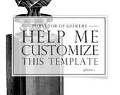 Design-Service - Vorlage Anpassung - Bearbeitung Vorlage anpassen Vorlage bearbeiten Vorlagen Grafik-Design Visitenkarten Cover Bilder bearbeiten