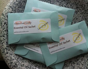 Sachets Scented with Essential Oils Natural Wedding Favor Aromatherapy Eco Friendly Favors Yoga Party Favors Pastel Christmas Place Cards