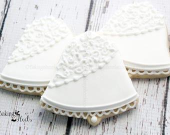 Wedding Bell Cookies, Wedding Cookies, Wedding favors, Bridal Bell Cookies, Bride and Groom Favors, Bridal Shower Cookie Favors, Wedding day
