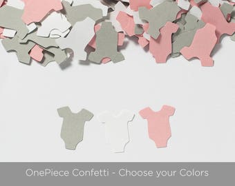 Baby Shower Confetti - OnePiece Confetti - Baby Shower Table Decoration - Choose Colors