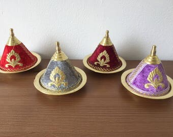 Moroccan Handmade Small Tajine Trinket/ Jewelry Boxes