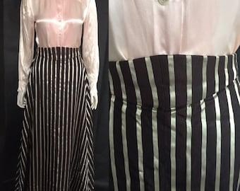 Reserved do not buy Striped Edwardian skirt
