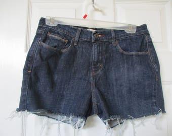 LEVIS 515 CUTOFF Denim Jean SHORTS W 30 Measured tag size 8 Hot Pants