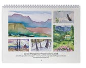 2018 Jackie Mangione Watercolor Calendar QUANTITY PRICE SPECIAL 3 for 30.