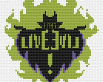 Long Live - PDF Cross-stitch Pattern - Instant Download