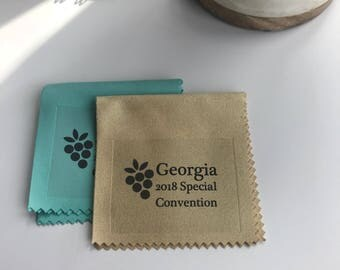Handmade Assorted 2018 Special Convention Gift Lens Cloth - Georgia