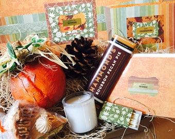 Thoughtful {Thanksgiving} Box {pumpkin + pumpkin pie soap}