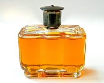 Vintage AMBUSH by Dana 2 oz (60 ml) Perfume Eau de Cologne Gilt Top Early 50s Bottle