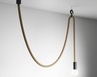 Hook Line Lamp /  Rope light