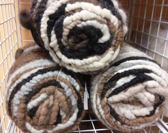 100% NATURAL Multi CORE SPUN Suri Alpaca Rug Yarn