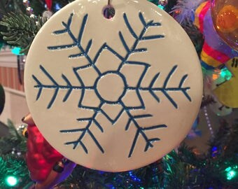 2014 Snowflake Ornament Collection