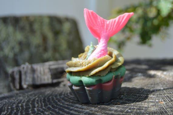 Cupcake Soap in Siren