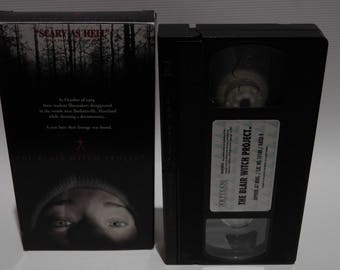 blair witch project - vhs