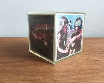 Vintage Photo Box, 1970s, Kitsch, Photo Frame, Snap in a Box