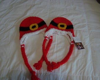 Crocheted Santa Hats
