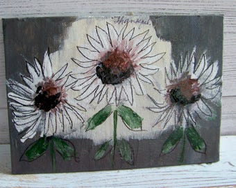 Original Paintings, Amy Mosher Designs, Sunflower Painting, Acrylic Paintings, Shabby and Chic Paintings, Abstract Paintings, Artwork, Art