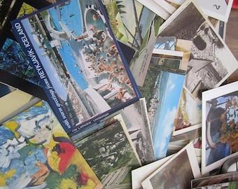 SALE 50% Off postcard lot, history, memorabilia, vintage postcard lot