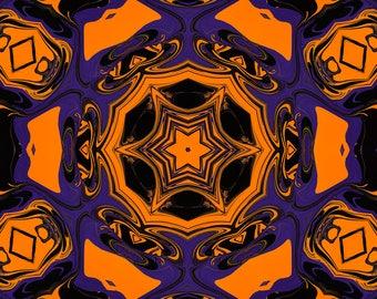 Halloween Kaleidoscope, Digital Photography, Halloween, Photo Art, Abstract Art, Photography