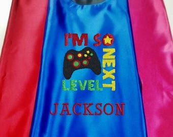 Superhero cape  Kid's  Cape Gaming, Video Games, Custom Embroidered   Personalized With Name