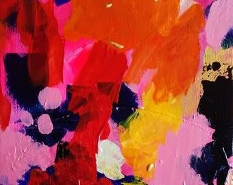 Abstract Art Abstract Painting - Home Decor Original Canvas Abstract Landscape - Original Art Modern Art Contemporary Art