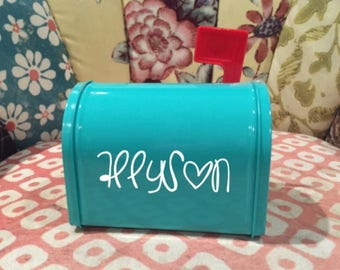 Personalized Mini Mailbox