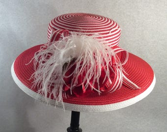 Red Kentucky Derby Hat