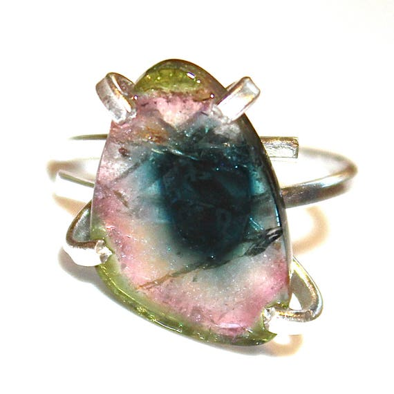 Bright Watermelon Slice Ring