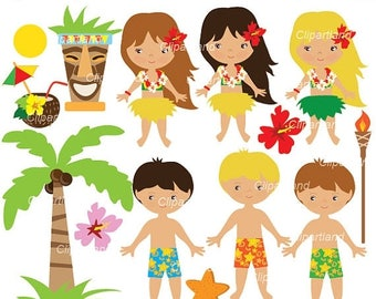 ON SALE INSTANT Download. Ch_Hawaii_16. Hawaii clip art. Personal and commercial use.