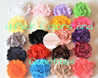 U-Pick Shabby Flower Headband set,Choose quantity,Set of Baby Girl Headbands,Newborn Headbands,Baby Headbands,Photography Headband