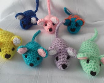Crochet Mouse // Little Mouse // Stuffed Mouse Toy // Crochet Stuffed Mouse // Amigurumi Mouse Toy
