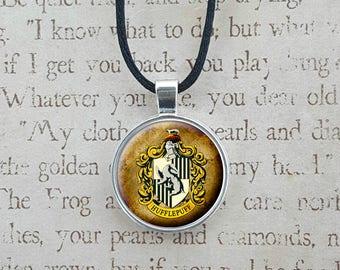 Hogwarts House Necklace Key Chain
