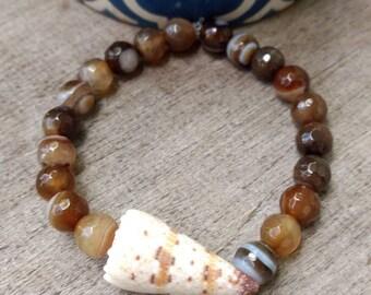 Hawaiian Cone Shell Bracelet