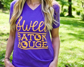 Sweet Baton Rouge® Heather Purple V