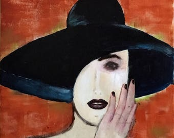 Woman with Hat (No. 104)