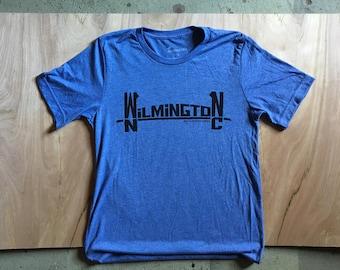 Wilmington NC Cape Fear Bridge Tshirt