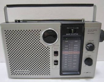 Vintage Sanyo Radio RP 6260 AM/FM 2 Band Receiver..free shipping !!!