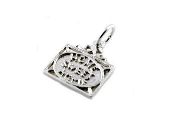 Sterling Silver Home Sweet Home Charm For Bracelets