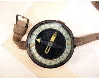 ON SALE Military Soldier Compass in carbon case