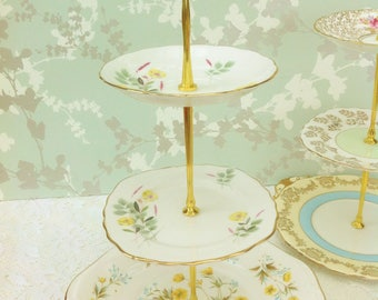 Buttercup  3 Tier Cake Stand