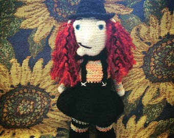 Winifred the Wonderful Crocheted Witch
