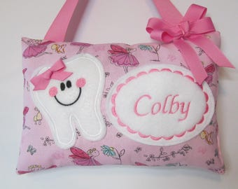 Tooth Fairy PIllow Personalized Fairies