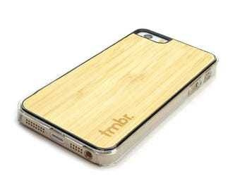 iPhone SE Case, Bamboo iPhone SE Case Cover, iPhone SE Case Wood - CLB5