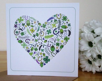 Luck and Love Square Card