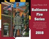 Baltimore Fire Series 2018 Benefit Calendar