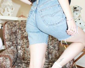 Vintage 90s Replay Denim Frayed Shorts