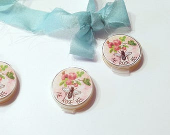 Solid Perfume Samples, 3 Natural Perfume Testers Plus More! Your Choice Natural Fragrances Gift Set, cruelty free vegan