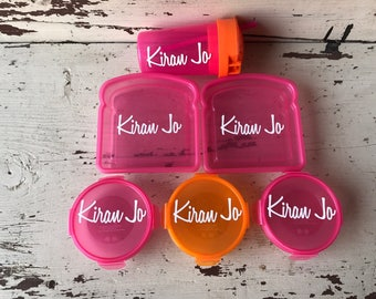 Kids Personalized 6 piece Lunch Set