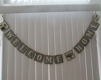 ARMY Welcome Home Banner