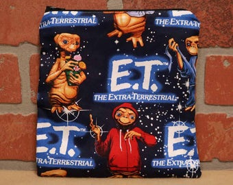 One Sandwich Bag, E.T., Reusable Lunch Bags, Waste-Free Lunch, Machine Washable, Sandwich Sacks, item #SS76